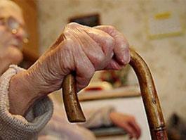 Украинская старушка грабила банк при помощи банки
