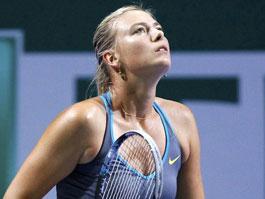 Теннисистка Мария Шарапова снялась с итогового турнира в Стамбуле