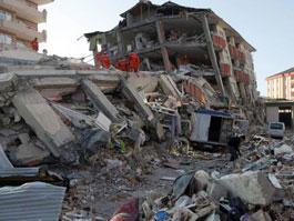 В Турции произошло еще одно мощное землетрясение