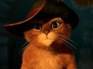 Лидером российского проката стал «Кот в сапогах»