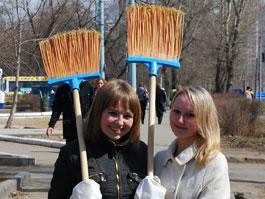 В Ижевске объявили о начале грандиозного субботника