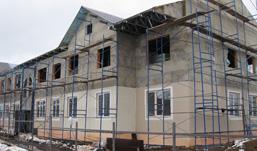 В Удмуртии построили первый многоквартирный дом из легких  стальных тонкостенных конструкций