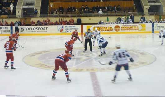 Ижевские хоккеисты обыграли орский ХК «Южный Урал» со счётом 4:3