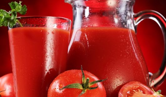 Томатный сок помогает организму восстановиться после тренировок