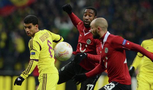 Подопечные Гуса Хиддинга выиграли у немецкого «Ганновера» со счётом 3:1
