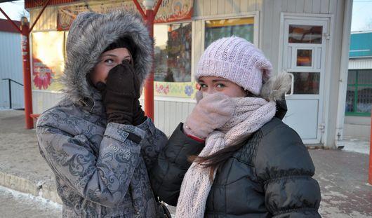 Морозные ночи ожидают Ижевск всю неделю