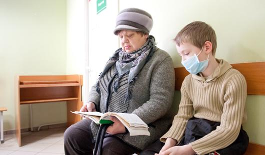 Почти 3500 жителей Удмуртии уже заболели гриппом в 2013 году