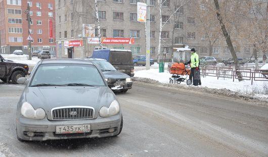Автопарк Удмуртии признан одним из самых молодых в России