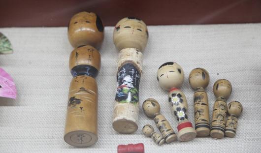Японских матрешек выставили напоказ в Ижевске