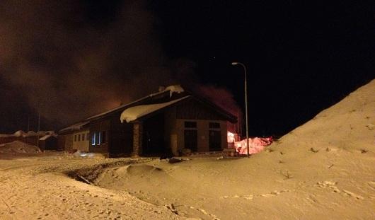 Пожар в горнолыжном курорте Нечкино удалось потушить за 20 минут