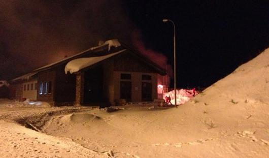 В Удмуртии при пожаре в туристическом центре «Нечкино» сгорел отдыхающий