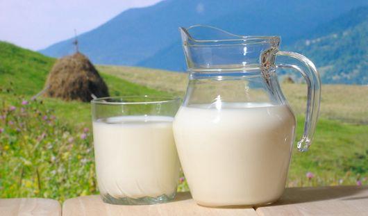 Похудеть к лету поможет молоко