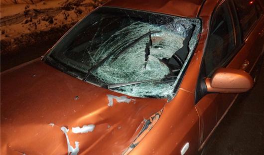 В Ижевске автомобиль сбил двух пешеходов