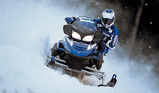 Поездка на снегоходе чуть не обернулась гибелью для жителя Удмуртии