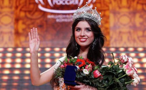 Жгучая брюнетка из Кемеровской области стала «Мисс Россия 2013»