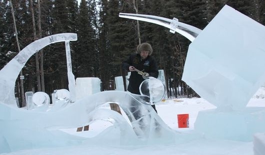 Ижевчанин выиграл мировой конкурс ледяной скульптуры