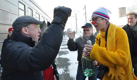 В Ижевск приехал «клоун без грима»