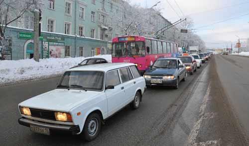 В конце марта на двух перекрестках Ижевска заработают новые видеокамеры