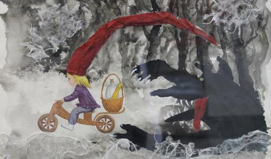 Новая выставка в Ижевске: Красная Шапочка-хипстер в джинсах и стерва-старуха