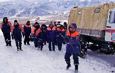 Найдено тело последнего из 6 подростков, попавших под лавину в Туве