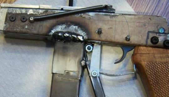 Самодельный пистолет хранил у себя житель Удмуртии
