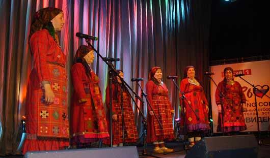 «Бурановские бабушки» перепели свой хит на «олимпийский лад»