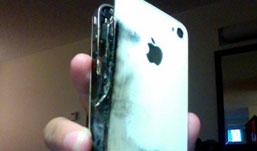 Новый iPhone взорвался в руках у владельца