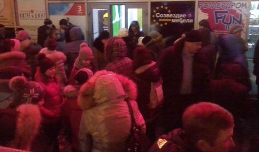 В Ижевске эвакуировали посетителей ТЦ «Омега»