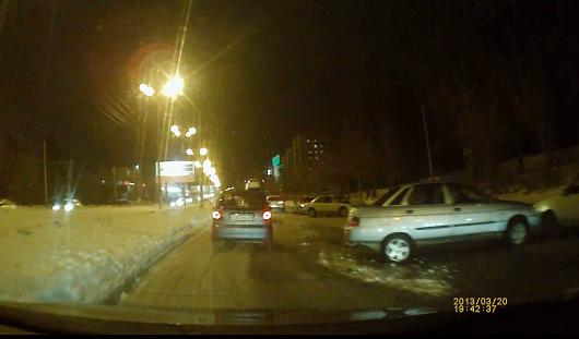 В Ижевске в аварию попали сразу несколько автомобилей