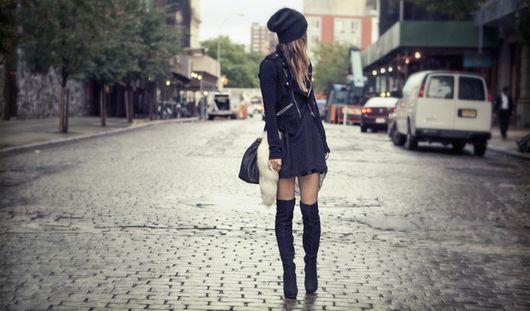 Большинство россиян предпочитают черный цвет в одежде
