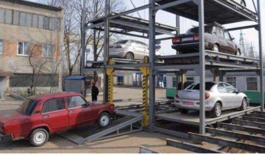 Примерные места строительства многоуровневых паркингов определены в Ижевске