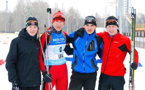 Биатлонисты-юниоры из Удмуртии победили на первенстве России