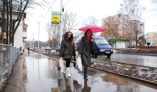 Начало апреля в Ижевске будет теплым и дождливым
