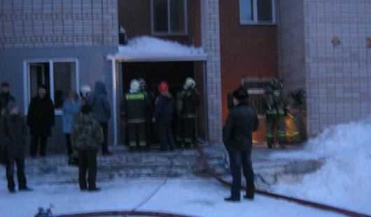 Из-за пожара в сауне в Ижевске эвакуировали посетителей ФОК «Здоровье»