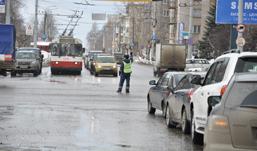 На перекрестке Удмуртская - Майская в Ижевске не работают светофоры