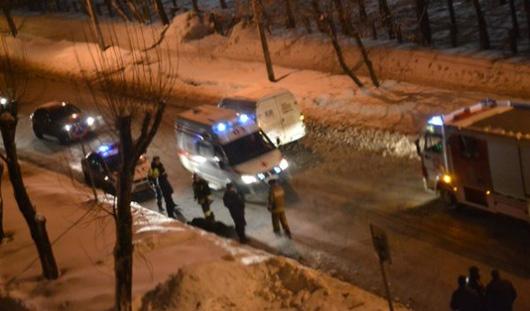 В Удмуртии на сбитого пешехода наехал автомобиль