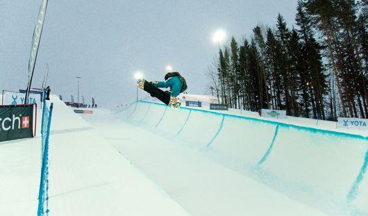 Удмуртия принимает финал Кубка России по сноуборду