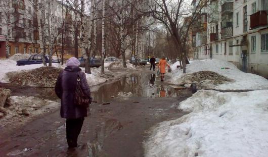 К выходным в столице Удмуртии потеплеет до +14