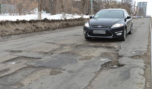 Какие дороги Ижевска ремонтируют 4 апреля?