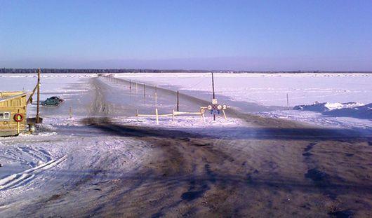 В Удмуртии закрываются все ледовые переправы