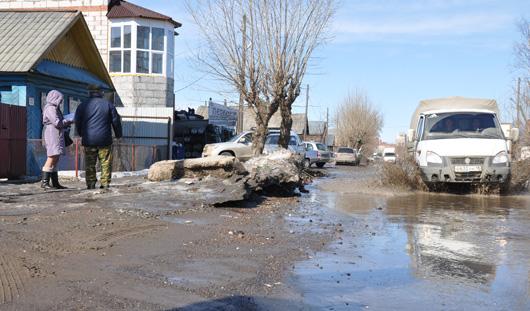 Половодье в Ижевске может начаться в ближайшие выходные