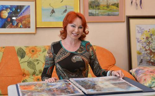 Ижевская художница, объехав всю республику, сотворила «Магию Удмуртии»