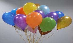Смельчак решил пролететь 10 километров на воздушных шариках над Атлантическим океаном