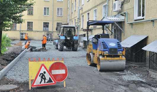 Ижевчанам помогут расширить парковки во дворах