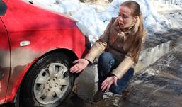 За воскресенье дорожники залатали в Ижевске более 700 ям