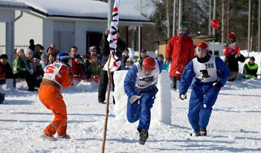 Россияне завоевали «бронзу» на чемпионате Европы по игре в снежки