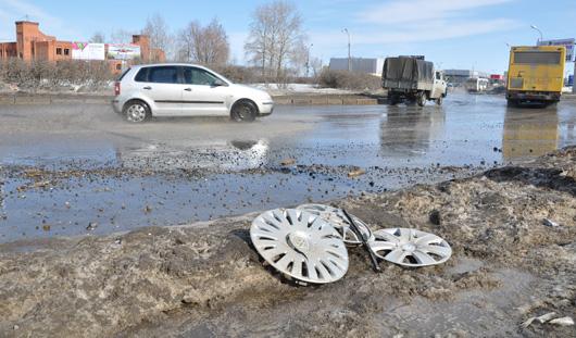 Ижевчане ударили по бездорожью… колесами