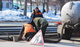 Где в Ижевске устраняют выбоины в четверг, 11 апреля?