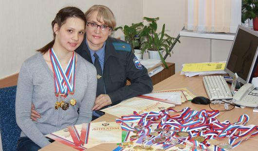 Следователь из Удмуртии воспитала чемпионку России по горнолыжному спорту