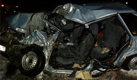 В Удмуртии в аварии погибла женщина